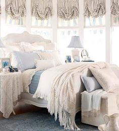 romantic touch - blanco y azul