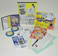 Weber Blitz Special Insta-Cartooner Value Kit by Martin/F. Weber Co.. $38.99. Insta-Cartooner Kit with mix and match plastic overlay sheets to create over 100,000 cartoon faces, cartooning book, body chart, sktech pad, tracing paper, pencil, pen & sharpener. Wheel of Features enables aspiring young artists to create over 10,000 fun and humorous faces.. And, if that was not enough..... It also includes DVD Library set of two discs, 4.5 hours. The ultimate in Drawin...