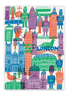 Human Empire Artist Series London Poster (50x70cm) | Human Empire Shop