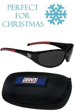 5fe9748794f7 This great set includes a high quality pair of New York Giants wrap  sunglasses and hard
