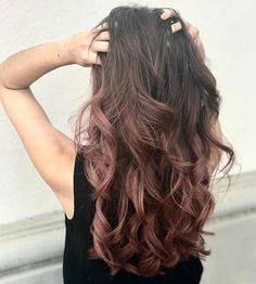 Rose Brown Hair, Golden Brown Hair, Brown Hair Shades, Brown Ombre Hair, Brown Hair Balayage, Rose Hair, Ombre Hair Color, Light Brown Hair, Brown Hair Colors