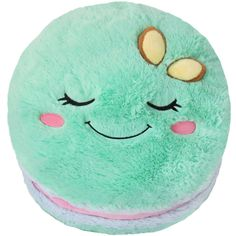 Oh my goodness it's a squishable macaroon! I want this!