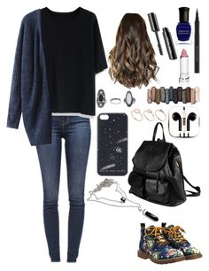 """""""Untitled #244"""" by vintage5sos ❤ liked on Polyvore featuring J Brand, Chicwish, Urban Decay, Kevyn Aucoin, Deborah Lippmann, Topshop, PhunkeeTree, ASOS, Marc by Marc Jacobs and PARENTESI"""