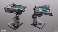 ArtStation - SciFi Console, Robert Stephens