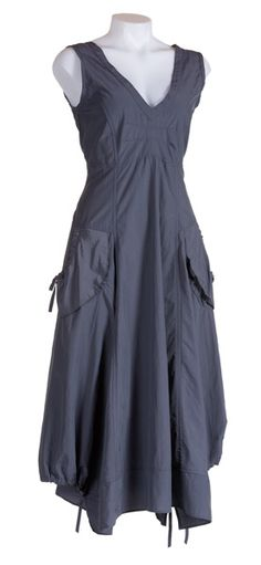 I have this dress and it is sooo comfortable.  Great for summer with sandals or winter with boots, best and flowing cardigan