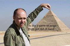 "I LOVE Karl Pilkington. If you've never seen ""An Idiot Abroad,"" watch it now."