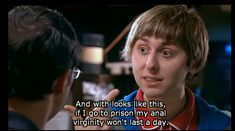 The Inbetweeners. Classic stuff. Just because it's about high school kids doesn't mean you should watch it with your high school kids. Unless you want everyone to feel extremely uncomfortable.
