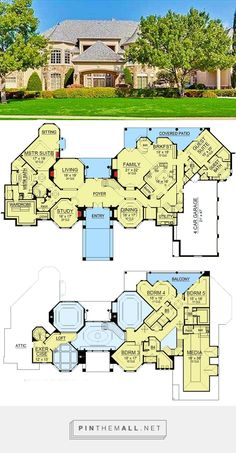 8458 sq. ft Dream Home Plan with Heart-Shaped Bedroom