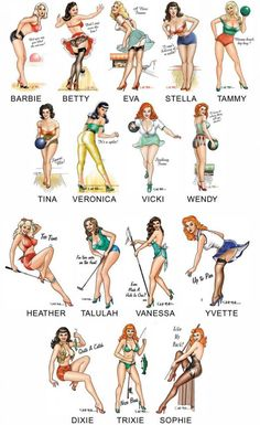 fullbody-tattoos: Pin Up Girls Tattoo Meaning and Designs