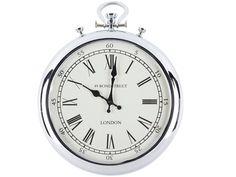 30  EUR. Guest living room. Reloj de pared MARCEL - Hierro - Largo 38 cm x Atura 48 cm
