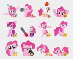 Pinkie Pie Stickers Set | Telegram Stickers