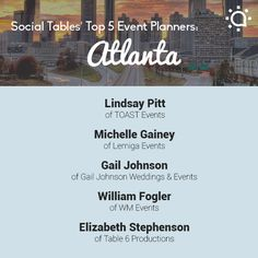 TalentSplash.com offers a great way for Event planners to promote their events using our Splashflyer system and other tools. We love Atlanta and are always happy to support those in the ATL community.