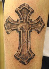 Delightful Faith Tattoos For Guys