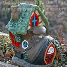 Forest Fairy Friends LED Shoe House