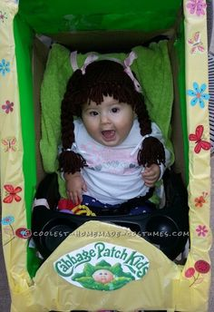 Cute Cabbage patch Baby Costume... Coolest Halloween Costume Contest