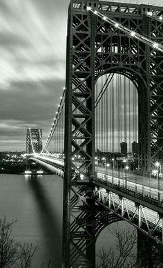 Fort Lee, Washington Heights, Hudson River, George Washington Bridge, New Jersey, New York City, Travel, Viajes, New York