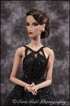 "Collecting Fashion Dolls by Terri Gold: ""Midnight Star"" Elise Jolie"