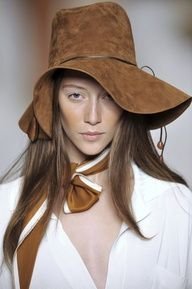 Beautiful hat by Hermes