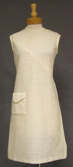 Vintageous, LLC - Sheer Cream Knit Vintage Shift Dress, $69.00 (http://www.vintageous.com/sheer-cream-knit-vintage-shift-dress/)