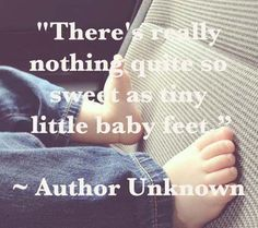 little baby feet quote and 10 Inspirational Sayings About Babies | Disney Baby