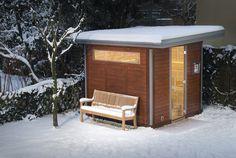Trotzen Sie den kalten Temperaturen – zum Beispiel mit einer #Außensauna von #TEKA #Saunabau: http://www.teka-sauna.de/teka/teka-home/saunahauser