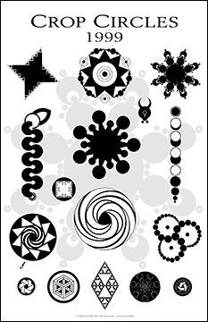 Crop circles posters
