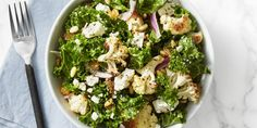 Omit feta on 30-day comeback challenge!  A beautiful salad designed to keep your heart healthy and your belly full.