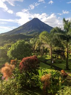 Arenal Volcano, view from the Arenal Kioro Suites & Spa. Beautiful place in Costa Rica!