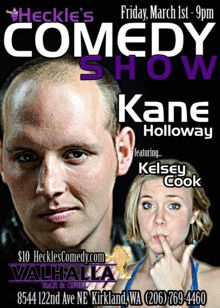 Heckle's Comedy Show Presents Kane Holloway & Kelsey Cook Kelsey Cook, Comedy Tickets, Comedy Show, Presents, Cooking, Movies, Movie Posters, Gifts, Kitchen