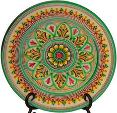 Hand-painted ceramic plate from Spain
