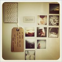 ever wondered what to do with your instagram photographs? this blog posthas many ideas of what to do and how to do it! Picture Magnets, Instagram Ideas, Instagram Images, Mini Magnets, Iphone Pics, Photo Displays, Creative Gifts, Fun Projects, Diy Art