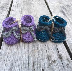 Een persoonlijke favoriet uit mijn Etsy shop https://www.etsy.com/nl/listing/524174728/crochet-newborn-baby-booties