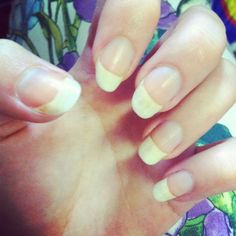 How to get Strong Long Natural Healthy Nails.