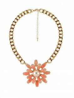 KOOVS Margot Flower Necklace
