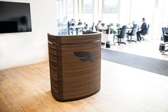 Impact Lectern 1 with logo