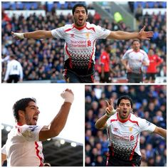 Another game, another Hat-trick for #Suarez. #LFC