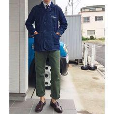 2016/10/01 18:58:21 americankari Today's clothes ・Tops - #ENGINEEREDGARMENTS × #BEAMSPLUS JACKET ・Shirt - BEAMSPLUS oxford ・Tie - BEAMSPLUS ARMY NAVY HAPPY TIE ・Pants - BEAMSPLUS ×  EG glassfield pants ・Shoes - #ALDEN loafers ・ . 今日は涼しかったですね . #エンジニアードガーメンツ  #ビームス #ビームスプラス #オールデン #beams #denim #menswear #mensfashion #ootd #outfit #fashion#fashionpost #fashionpic #fashionable#fashioninsta #fashionlove#instafashion #fashionblogger#fashionista #fashionlover #instagood#instacool#instadiary #コーデ…
