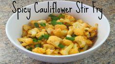 Spicy Cauliflower Stir Fry - Pioneer Woman Recipe!