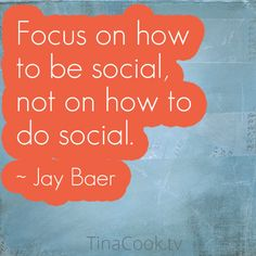 Social Media Marketing Quote by Jay Baer #quote
