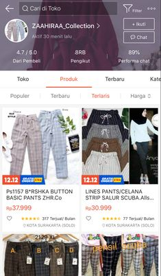 Casual Hijab Outfit, Casual Outfits, Cute Outfits, Shopping Sites, Online Shopping Stores, Online Shop Baju, Best Online Clothing Stores, Shops, Cute Fashion