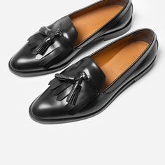 3c7dd530955 The Modern Tassel Loafer - Black