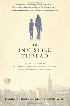 I read this book in one day. Such a heartwarming, heart wrenching, and inspirational true story. An Invisible Thread: The True Story of an Panhandler, a Busy Sales Executive, and an Unlikely Meeting with Destiny I Love Books, Great Books, New Books, Books To Read, Date, Book Club Books, The Book, Book Nerd, Book Clubs