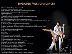 Rules of dating a pole dancer