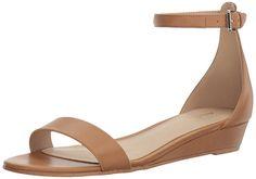Aldo Women's Kerina Heeled Sandal, Cognac, 6.5 B US