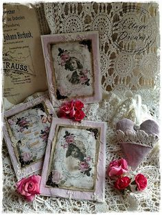 Sweet cards and little lace heart