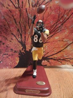 Looking For - Hines Ward Danbury Mint, Action Figures, Nfl, Things To Sell, Hs Sports, Nfl Football