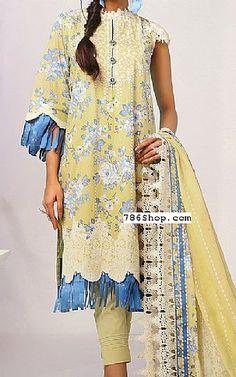 Pakistani Lawn Suits, Pakistani Dresses, Fashion Pants, Fashion Dresses, Add Sleeves, Lawn Fabric, Shalwar Kameez, Indian Outfits, Chiffon Dress