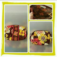 💛 NWOT Vera Bradley Cosmetic Bag 💛 Brand New Never Used Vera Bradley Cosmetic Bag In Retired Rare Buttercup Pattern. This Is So Pretty For Spring & Summer. Excellent Condition 🚫 TRADES 🚫 PAYPAL 🚫 PRICE IS FINAL 💛 Vera Bradley Bags Cosmetic Bags & Cases