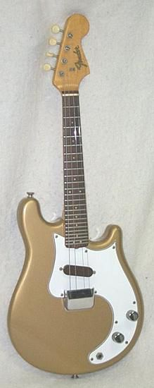 Fender Mandocaster. Warren Ellis-style