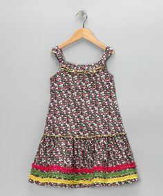 Take a look at this Pink Wildflower Sundress - Toddler & Girls by Lemon Seed Kids on #zulily today!